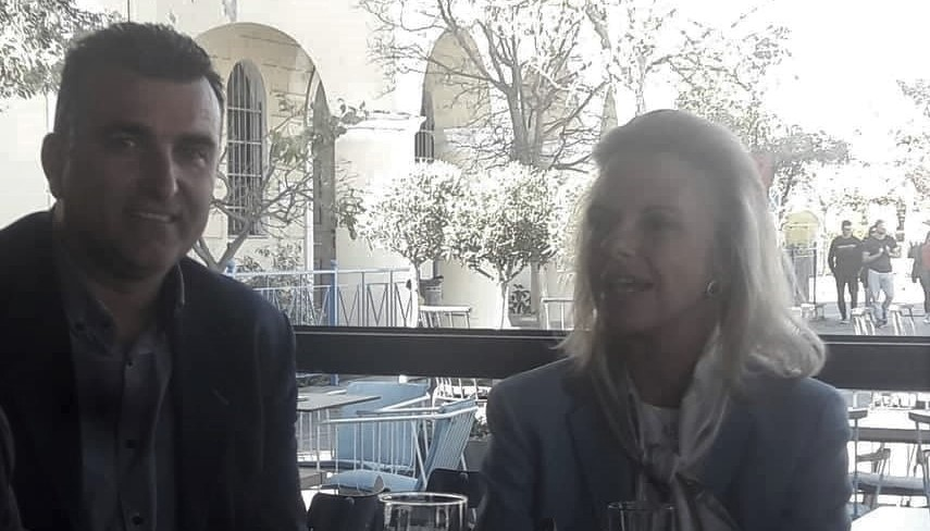 Συναντήσεις του Γιώργου Νίτσα με την Ελίζα Βόζεμπεργκ και την Φώφη Γενννηματά