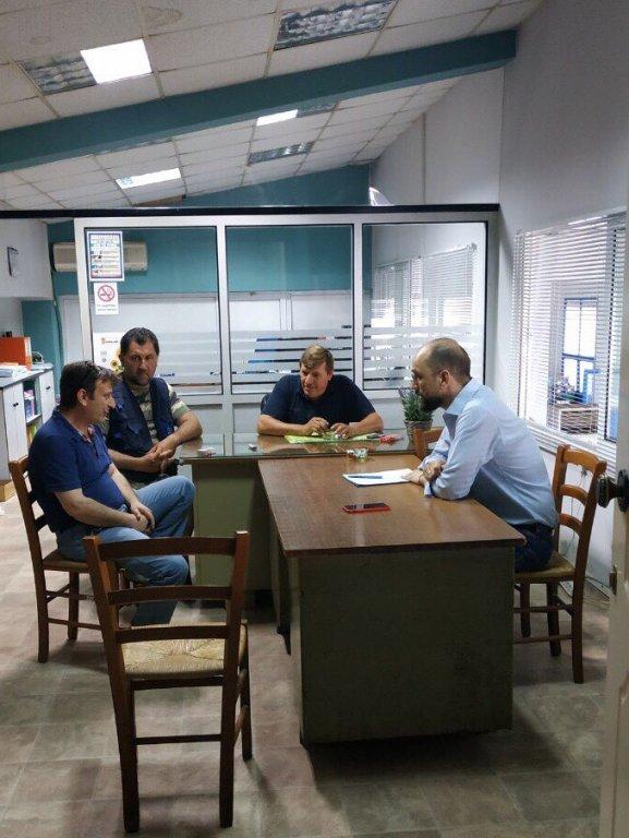 Συνάντηση του Κώστα Μπάρκα με τα Δ.Σ. ΑΣΥΠ Νικόπολης, ΑΣΠΟΠ Πρέβεζας και Κηπευτικού Συνεταιρισμού Πρέβεζας