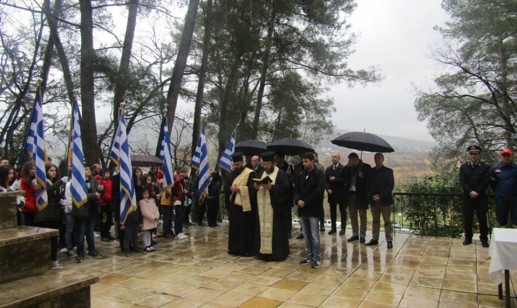 Δήμος Ζηρού : Τιμήθηκε η μνήμη των Μπιζανομάχων